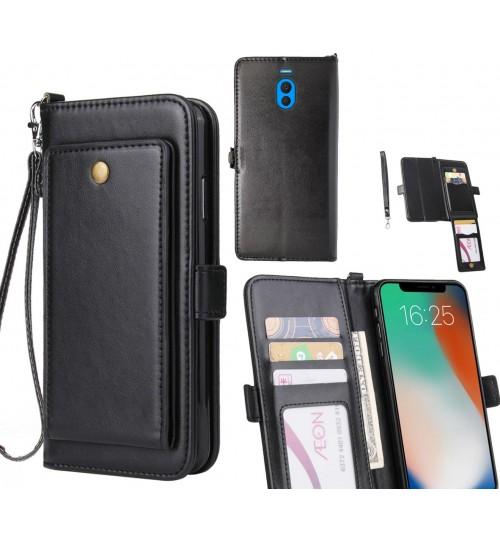 Meizu M6 Note Case Retro Leather Wallet Case