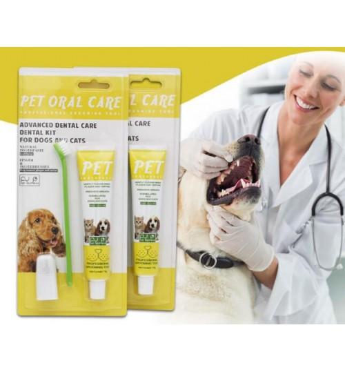Pet Toothbrush & Toothpaste Set Teeth Cleaning
