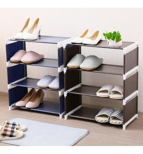 Shoe Rack - Shoe Shelf (Brown)