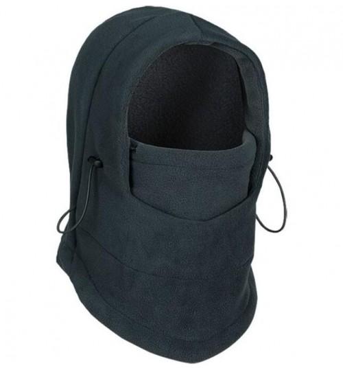 Outdoor Winter Fleece Balaclava Warm Hat Hood Windproof Face Mask