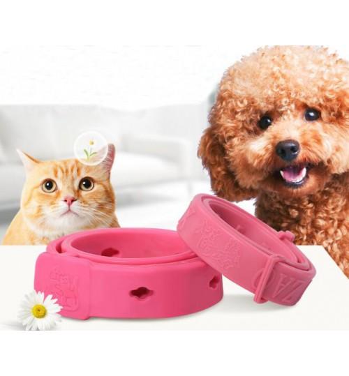 Adjustable Pet Anti Flea Tick Neck Collar Dog Cat Kitten Months Protection