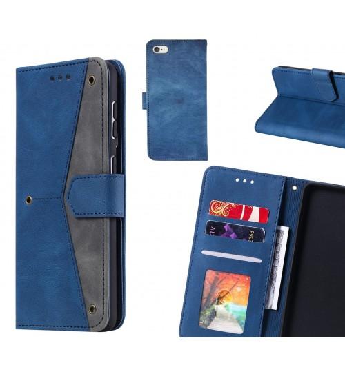 iPhone 6S Plus Case Wallet Denim Leather Case Cover