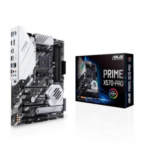 ASUS PRIME X570-PRO/CSM AMD RYZEN3 X570 AM4 ATX 4XDDR4 PCIE 4.0 M.2 USB3.2 RAID MOTHERBOARD