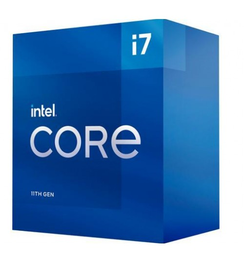 INTEL CORE I7 11700F 8 CORES 16 THREADS 2.50 GHZ 16M CACHE LGA 1200 PROCESSOR- - WITHOUT BUILTIN GRAPHIC CARD AND COOLER