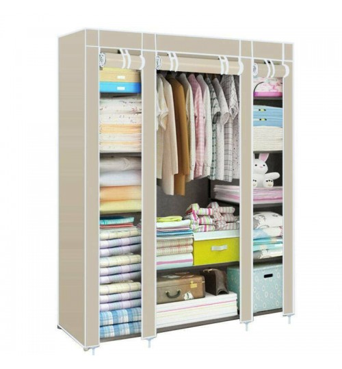 Large Clothes Wardrobe, Multipurpose Storage shelf