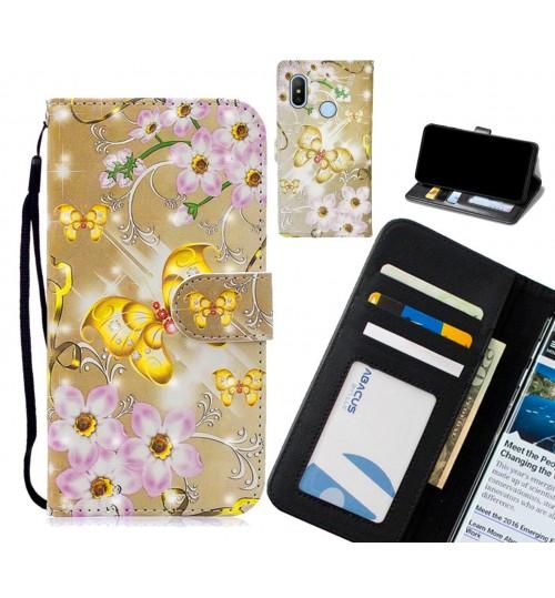 Xiaomi Mi A2 Lite Case Leather Wallet Case 3D Pattern Printed