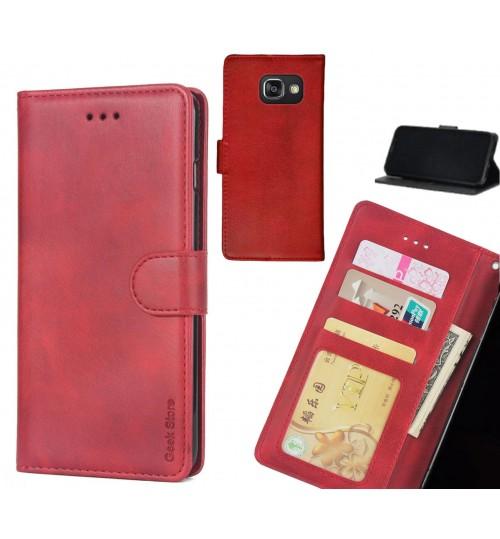 Galaxy A3 2016 Case Wallet Leather Vintage Flip Folio Case
