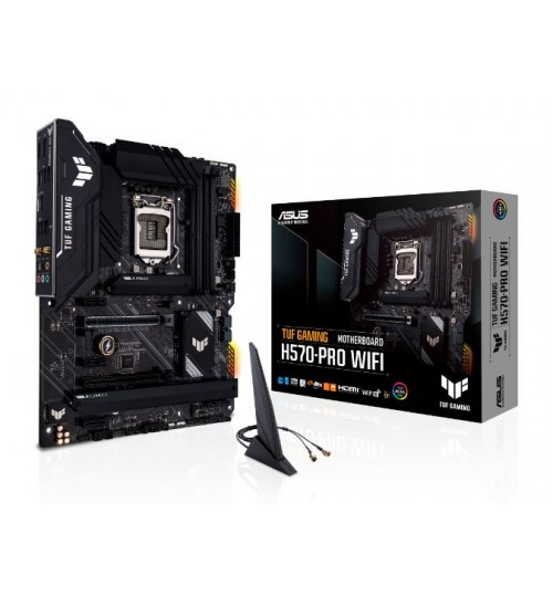 TUF GAMING H570-PRO WIFI (LGA 1200) ATX MAX 128GB DDR4 PCI-E 4.0 3xM.2 SLOTS HDMI DP USB3.2