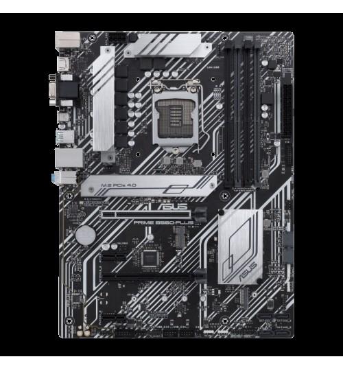 ASUS PRIME B560-PLUS (LGA 1200) ATX PCI-E 4.0 2xM.2 SLOTS DP HDMI D-SUB USB3.2 TYPE-C