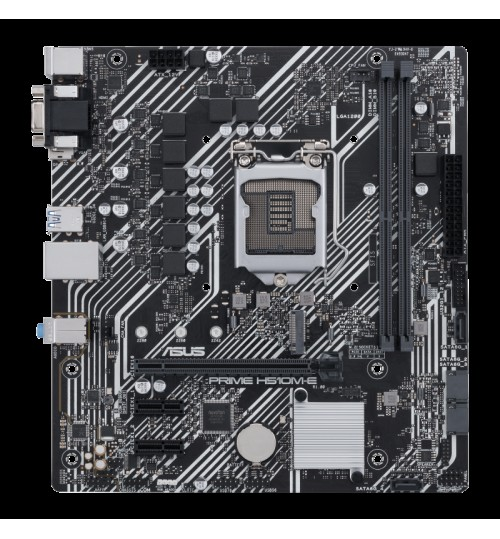 ASUS PRIME H510M-E (LGA1200) MICRO ATX PCI-E 4.0 32GBPS M.2 SLOT DP HDMI D-SUB USB3.2 STAT 6GBPS RGB HEADER