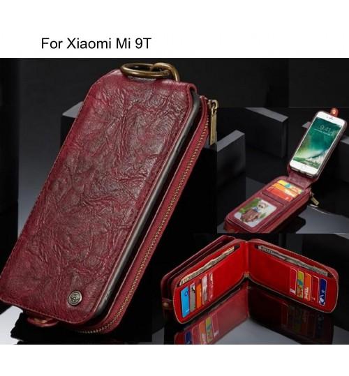 Xiaomi Mi 9T case premium leather multi cards case
