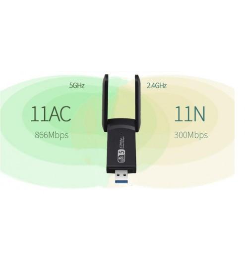 USB Dual Band Wireless Wifi Network Adapter