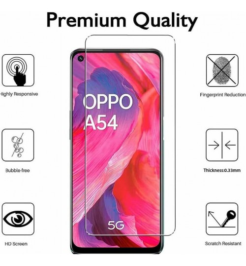 Oppo A54 5G Tempered Glass Screen Protector