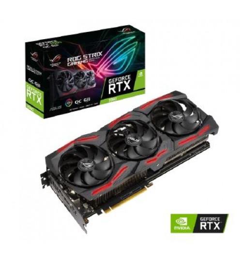 ASUS ROG-STRIX-RTX2060-O6G-EVO-V2-GAMING OC EDITION 1860MHZ PCIE 3.0 6GB GDDR6 192 BIT 2XHDMI 2XDP GRAPHICS CARD