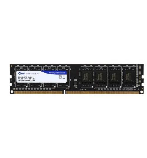 TEAM ELITE 8GB 1600MHz DDR3 DIMM