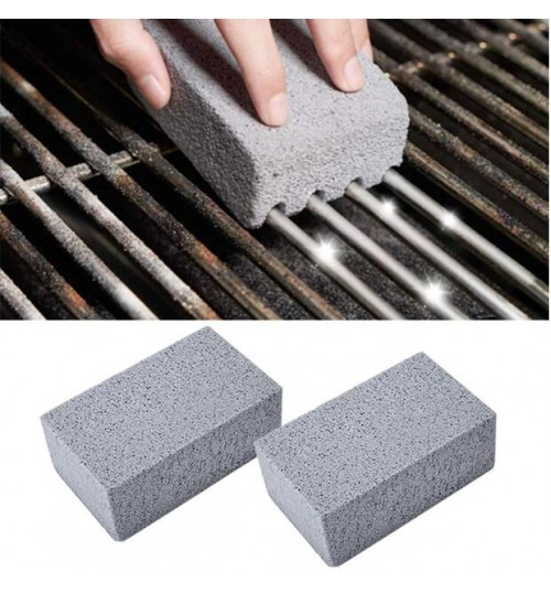 BBQ Grill Cleaning Brick Block