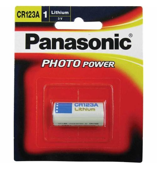 Panasonic 3V Cr123a Lithium Camera Battery