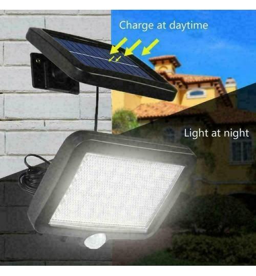 Solar Sensor Light Motion Detection Garden Light