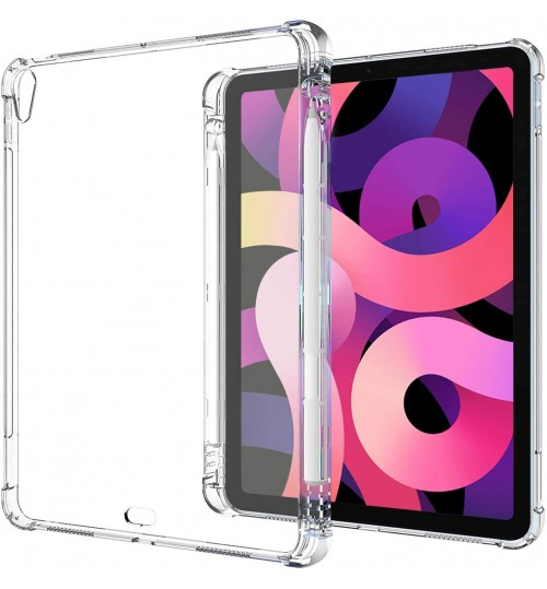 iPad Air 4th Gen 10.9 Clear Case with Pencil Holder