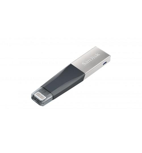 SANDISK IXPAND MINI FLASH DRIVE SDIX4ON 32GB GREY IOS USB 3.0 2Y