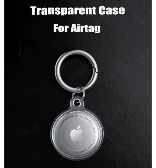 Airtag Case Clear Gel Cover Keyring
