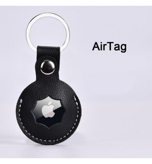 AirTag Case Leather Cover Keyring
