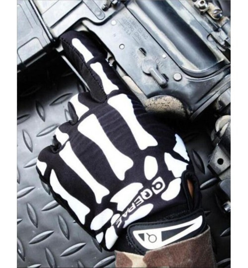 Sports Motorcycle Gloves Full Finger Gloves Bicycle M SIZE