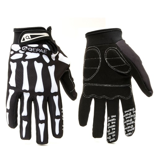 Sports Motorcycle Gloves Full Finger Gloves Bicycle L SIZE