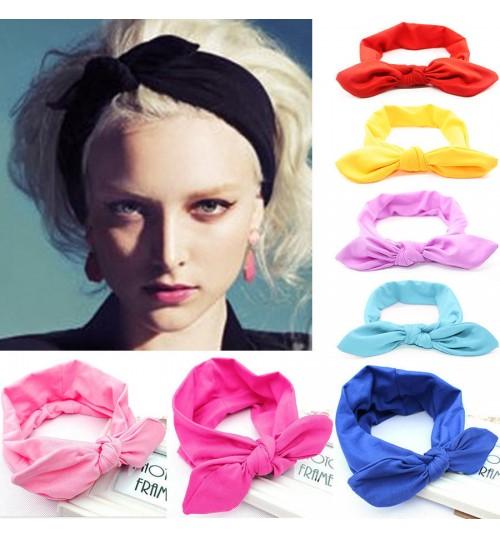 Sports Headband Rabbit HEADBAND -- Pink
