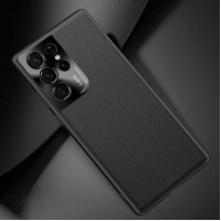 Samsung S21 Ultra Case Slim Leather Case