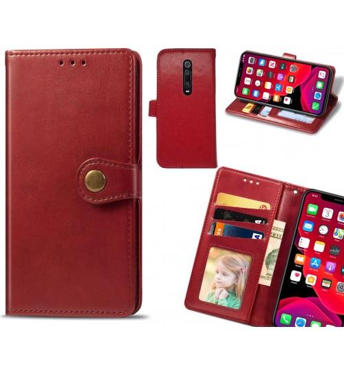 Xiaomi Mi 9T Case Premium Leather ID Wallet Case