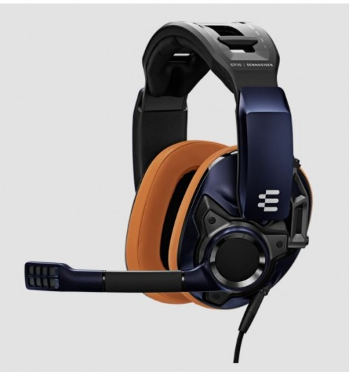 EPOS GSP 602 CLOSED ACOUSTIC MULTI-PLATFORM STEREO WIRED GAMING HEADSET - BLACK / BLUE