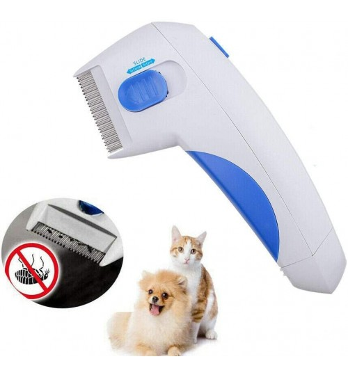 Electric Anti Flea Pet Cleaning Brush