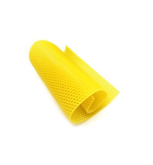 10PCS Natural Honeycomb Bee Wax Foundation Sheets Paper Candlemaking