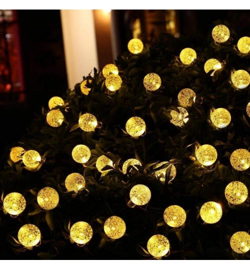 60 LED Solar BULB Lights 11M