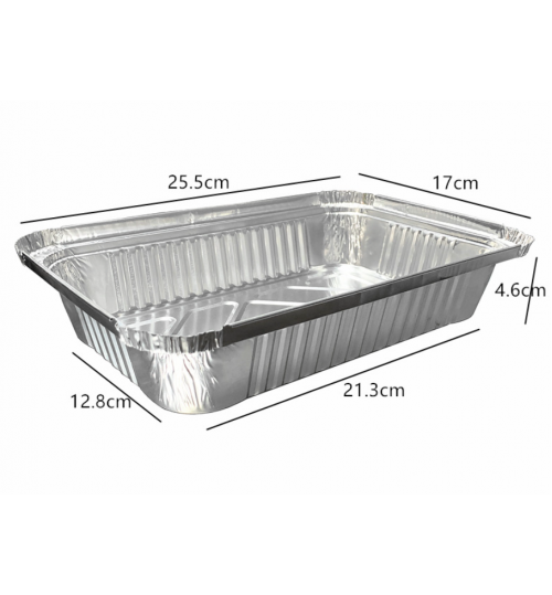 Tin Foil Container Baking Tray 25CM