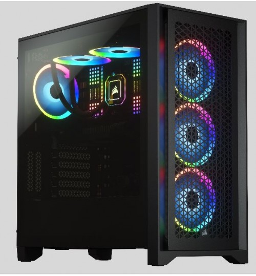 CORSAIR 4000D AIRFLOW TEMPERED GLASS MID-TOWER - WHITE