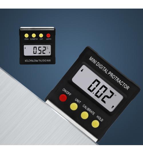 Digital Protractor Angle Ruler Level Meter